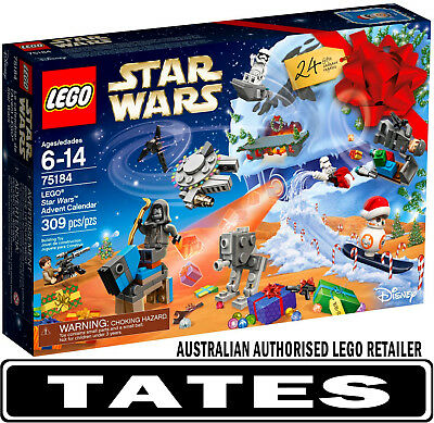 LEGO 75184 ADVENT CALENDAR STAR WARS 2017 from Tates ToyWorld