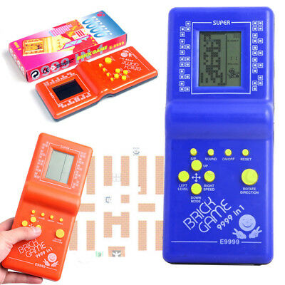 Classic Tetris Handheld Kids Toys For Children Boys LCD Arcade Game Gifts