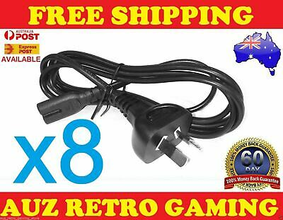 8x Power Supply Cable Cord Lead for SONY Playstation 4 PS4 Console