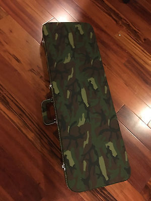 Gator Camo Camouflage Case for Fender Strat Tele Stratocaster Electric Guitar