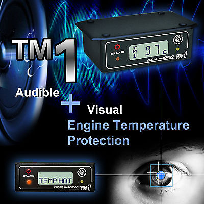 Engine Watchdog Temperature Gauge / Overheating Alarm / Recorder Tm1