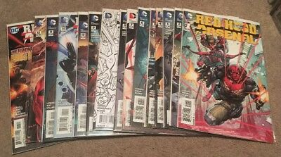 Red Hood Arsenal #1-13 Complete New DC 52 NM + Bonus Variants Rebirth