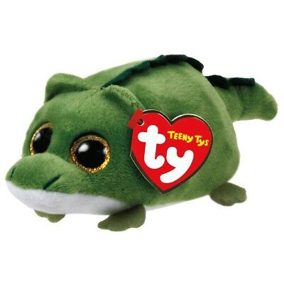 "TY Beanie Boos Teeny Tys 4"" WALLIE Alligator Stackable Plush Stuffed Animal Toy"