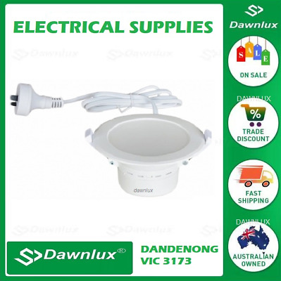 LED Dimmable or Non Dimmable Downlight Tri-Colour Switchable 70 or 90mm Cut out