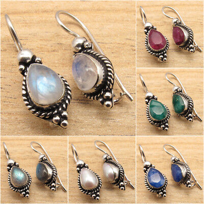 925 Silver Plated OXIDIZED Earrings ! Wholesale Price Women's Jewelry