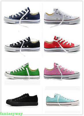 Women Man ALL STARs Taylor Ox Low High Top shoes casual Canvas Sneakers AAA