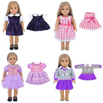 """Doll Clothes 5PC Lots for 18"""" Dolls American Girl Dolls Clothing Collection NEW"""