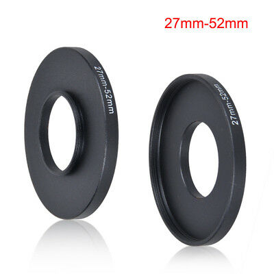 27mm to 52mm Stepping Step Up Filter Ring Adapter 27mm-52mm