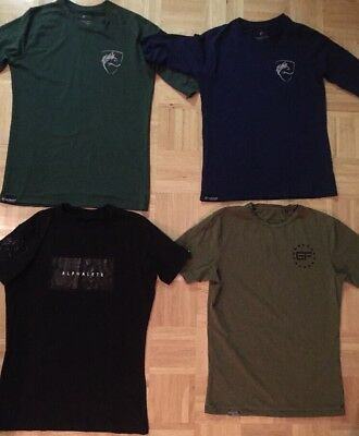 Alphalete & Ever Forward T-Shirts Mens Medium M Lot Of 4 New