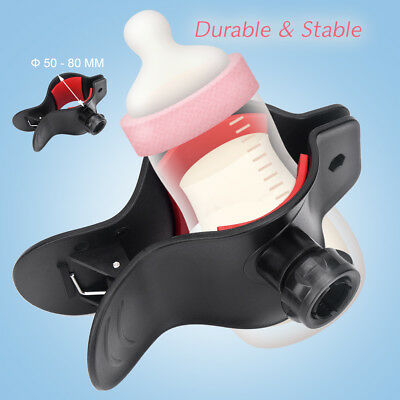 360° Adjustable Anti-slip Baby Water Drink Milk Bottle Holder Support Clamp TP
