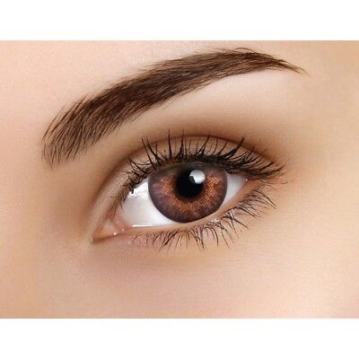Lentille couleur bella noisette - Hazel color contact lenses - ERT