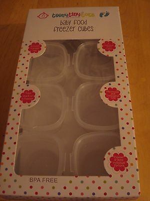 8 x baby food freezer cubes by teeny tiny tots baby care with freezer tray