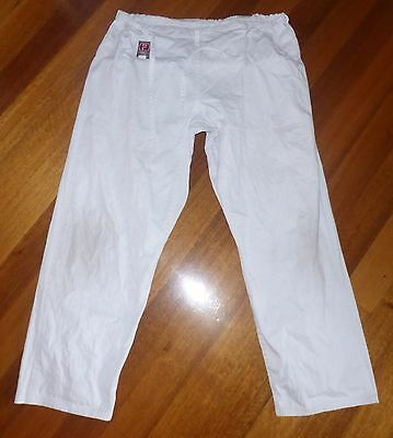 GRAPPLERS CHOICE Size 5 (M) White Martial Arts Pants