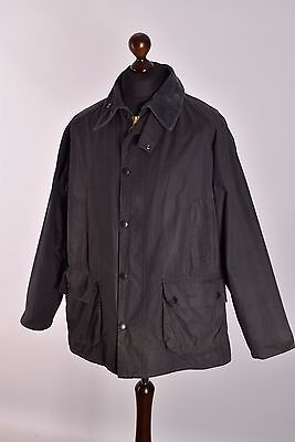 Men's Barbour Bedale Waxed Jacket Size C42 / 107cm Genuine Casual