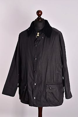 Men's Barbour Beaufort Waxed Jacket Size C48 / 122cm Genuine Casual Waxed