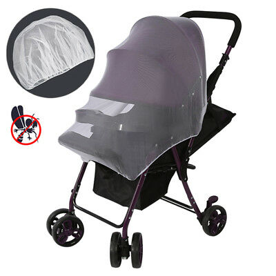 Baby Infant Stroller Mosquito Insect Net Cover Fits for Bassinet and Car Seat US