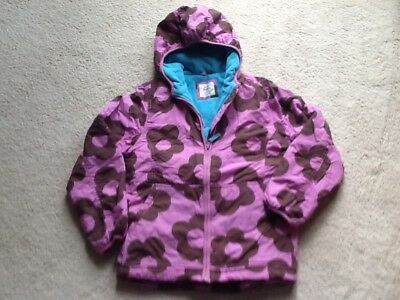 Bnwot mini boden girls fleece lined winter coat jacket age 13-14 years new