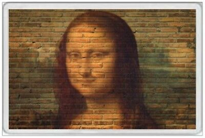 Jumbo Fridge Magnet - Mona Lisa - Wall Art - Leonardo Da Vinci