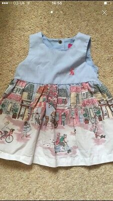 Joules Baby girls Dress 0-3 Months - Street Scene