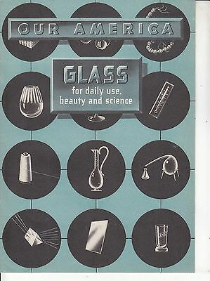 Our America Glass Booklet & Pictures  1944 Dist. By The Coca-Cola Co.