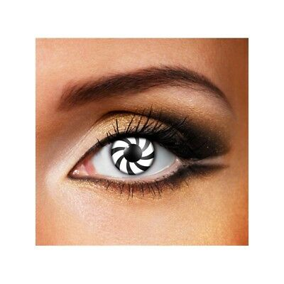 Lentilles  couleur fantiasie hypnotique - optical fancy color contact lens