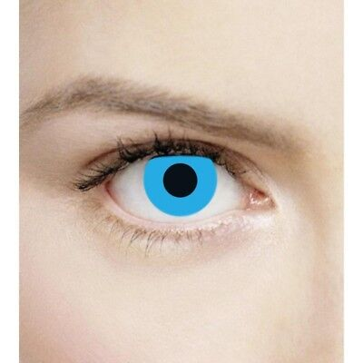 Lentilles de contact couleur Bleu Opale F43 - blue fancy color lens