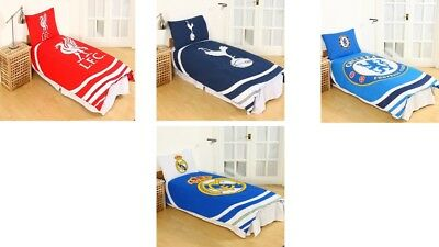 Football Club Pulse Single Double Duvet Quilt Covers Boys Bedding Official New