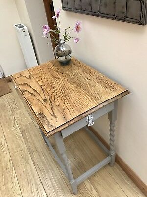 Vintage, Victorian Antique Oak Side Table