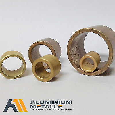 Sintered Bronze Connector Ø 5 x 8 x 5mm Sleeve Bearings for