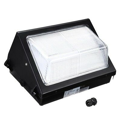 80W 5000K LED Wall Pack Light IP65 Outdoor Waterproof Security Fixture Lighting