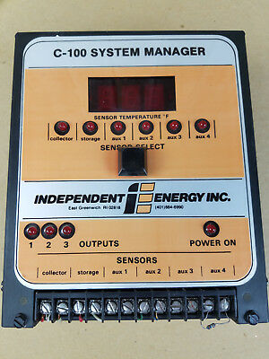 C-100 System Manager - Independent Energy INC - Solar Differential Controller