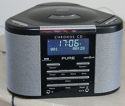 Pure Chronos Cd In Silver And Black. In Excellent Condition Nice Bright Display