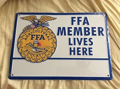 Original FFA Member Lives Here Sign