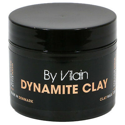 BY VILAIN Dynamite Professional Mens Hair Grooming Clay 2.2oz Strong Hold NEW