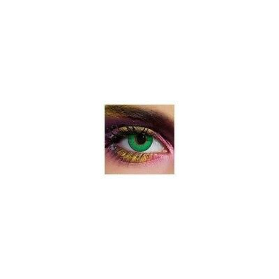 Lentilles de contact couleur 3 tons vert - green color contact lens 3 tone