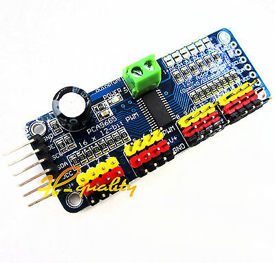 2pcs 16-channel 12-bit i2c PMW Driver Servo Driver PCA9685 For Arduino new