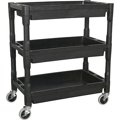 Sealey CX205 Trolley 3 Level Composite Heavy Duty