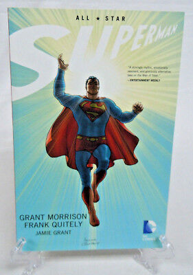 All Star Superman by Morrison & Quitely DC Comics TPB Paperback New $29.99