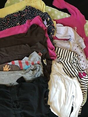 Toddler Girl Shirts And Long Sleeve Lot For Fall/winter/spring 18 months