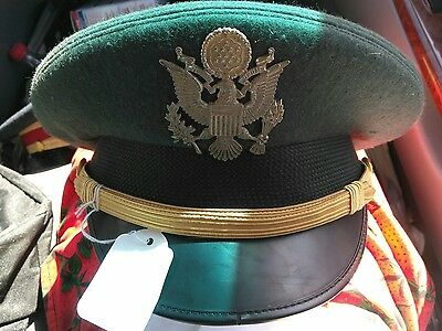 Kingform Cap De Luxe New York Military / Officer Hat Sz. 7