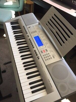 Casio CTK-4000 Digital Keyboard, Stool, Pedal and Song Books