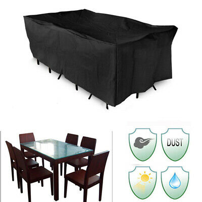 Outdoor Furniture Waterproof Table BBQ Grill Cover Garden Patio Protector 4 Size
