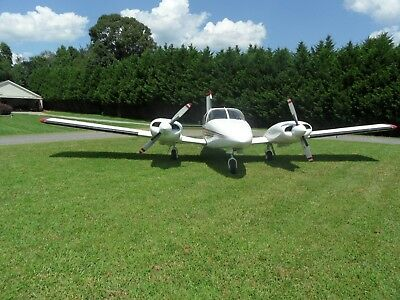 Piper Seneca II , 1975 Turbocharged, Known Ice, Fresh Annual and Paint , NICE !!