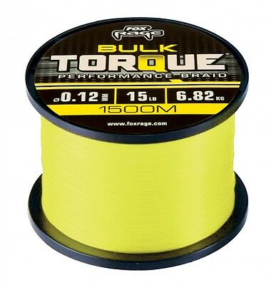 FOX Rage Torque Perfomance Braid - 150m / 0,10mm
