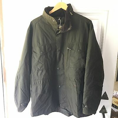 Barbour Men's Wax Sapper Jacket, Olive Green, New With Tags, XL Never Worn