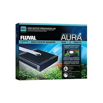 LED Lamp Aura Nano High Performance Fluval 12W New Compact LED Technology