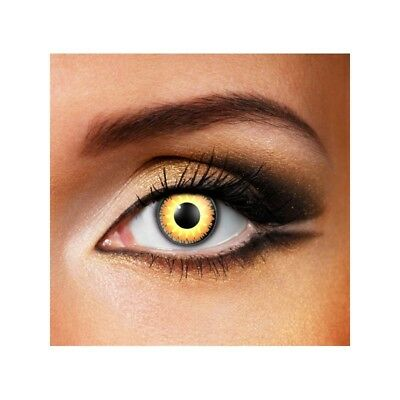 Lentilles de contact couleur Glamour miel - honey  color contact lens