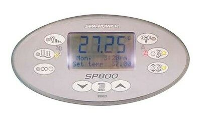Davey Spa Power Touchpad Control SpaPower SpaQuip SP800 incl. Decal Oval