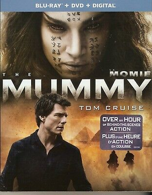 THE MUMMY BLURAY & DVD & DIGITAL HD SET with Tom Cruise & Russell Crowe