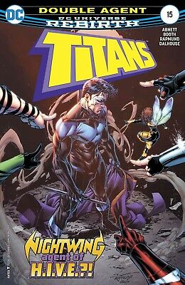 Titans #15 Rebirth Dc Comics Near Mint 9/13/17